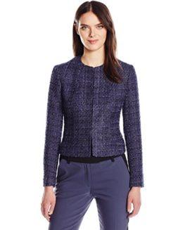 Anne-Klein-Womens-Fancy-Tweed-Jacket-0