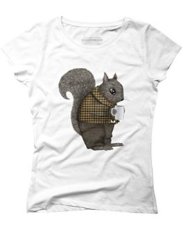 Another-Early-Morning-For-Mister-Squirrel-Womens-Graphic-T-Shirt-Design-By-Humans-0