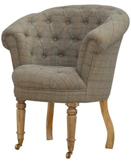 Tweed Armchairs