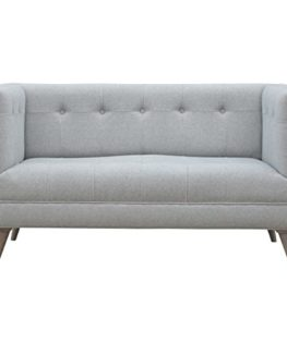 Artisan-Furniture-Scandinavian-Designed-2-Seater-Sofa-in-Grey-Tweed-Wood-Natural-OakIsh-Finish-0