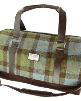 Authentic-Harris-Tweed-Clyde-Weekend-Bag-In-Various-Colours-LB1026-0
