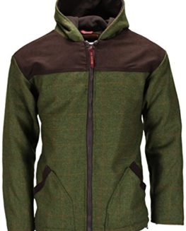 Bradshaw-Bentley-New-Mens-Tweed-Breathable-Waterproof-Hoodie-Hooded-Jacket-Coat-Zip-Up-Wool-Hoody-Casual-Top-Coutryside-UK-Made-Shooting-Fishing-Hunting-Farmers-Farming-0