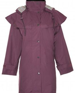 Country-Estate-Ladies-Windsor-Waterproof-Fabric-Lightweight-Lined-Riding-Cape-Coat-Jacket-Trench-Coats-Macs-Lined-Detachable-Hood-Taped-Seams-Walking-Outdoors-Countrywear-0