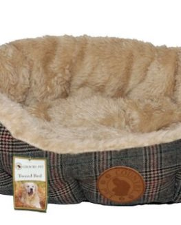 Country-Pet-Luxury-Tweed-Dog-Bed-choose-from-a-range-of-sizes-hand-crafted-from-the-finest-tweed-fabric-0