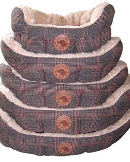 Country-Pet-Luxury-Tweed-Hand-Crafted-Tweed-Fabric-Dog-Basket-0