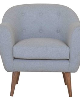 Details-about-Beautiful-Martello-Chic-Tweed-Grey-Armchair-0