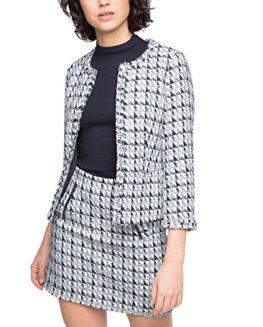 ESPRIT-Womens-Triangel-Tweed-Jacket-0