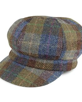 Failsworth-Hats-Gabby-Harris-Tweed-Bakerboy-Cap-Blue-Green-0