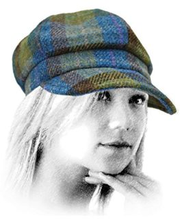 Failsworth-Ladies-Harris-Tweed-Bakerboy-Cap-0