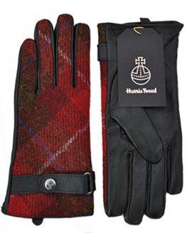 Failsworth-Ladies-Harris-Tweed-Leather-Gloves-0
