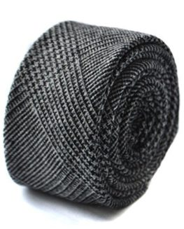 Frederick-Thomas-100-Wool-Tweed-Ties-Black-0