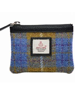 Genuine-Harris-Tweed-Cloudberry-Ladies-Coin-Purse-0