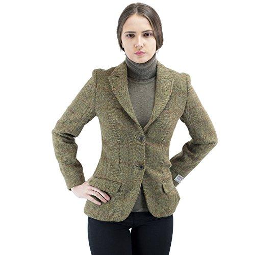 Harris tweed jacket for women
