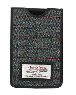 Genuine-Harris-Tweed-Phone-Case-With-Real-Leather-Trim-Boxed-0