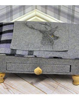 Tweed Footstools