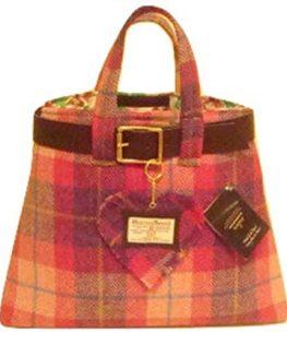Harris-Tweed-Balmoral-ladies-bag-Cranachan-plaid-design-hand-made-in-Scotland-0