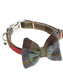 Harris-Tweed-Bow-Tie-Dog-Collar-MacLeod-Tartan-0