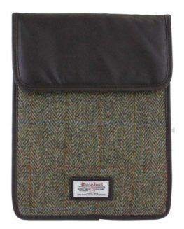 Harris-Tweed-Green-Brown-iPad-Case-0