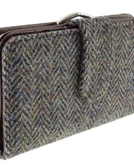 Harris-Tweed-Ladies-Long-Wallet-Purse-In-Various-Colours-LB2001-0