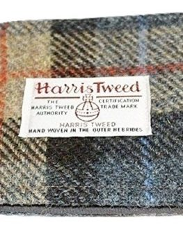 Harris-Tweed-Mans-Wallet-MacKenzie-plaid-design-FREE-UK-DELIVERY-0