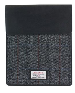 Harris-Tweed-and-Leather-Sleeve-Case-For-Tablet-Or-IPad-0