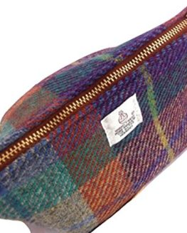 Harris-Tweed-ladies-Big-Mouth-pouch-Highland-Mist-plaid-hand-made-in-Scotland-FREE-UK-DELIVERY-0