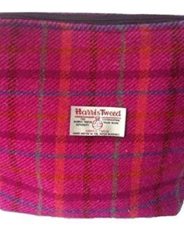 Harris-Tweed-ladies-wash-bag-Pink-Heather-design-hand-made-in-Scotland-0
