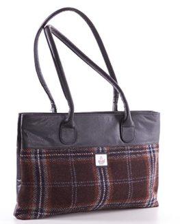 Hebridean-Peat-Harris-Tweed-Tote-Bag-0