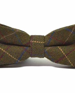 Heritage-Check-Regency-Green-Bow-Tie-Tweed-Bowtie-0
