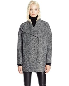 JONES-NEW-YORK-Womens-Ladies-Short-Wool-Tweed-Coat-with-Dramatic-Collar-0