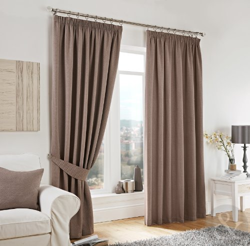 just contempo curtains 3 header tape in tweed fully lined