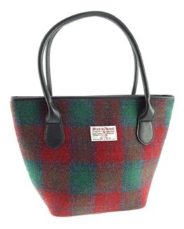 Ladies-100-Harris-Tweed-Tote-Bag-10-Colours-Available-New-LB1008-0