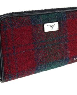 Ladies-Harris-Tweed-Long-Zip-PurseStaffa-LB2100-0