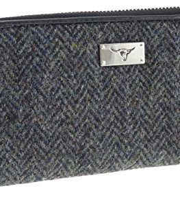 Ladies-Harris-Tweed-Long-Zip-PurseStaffa-LB2100-COL1-0