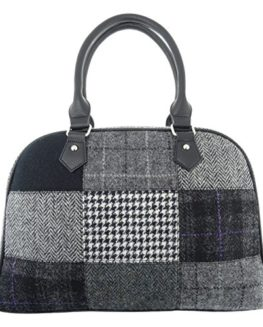Ladies-Harris-Tweed-Patchwork-Handbag-Available-In-2-Colours-LB1022-0