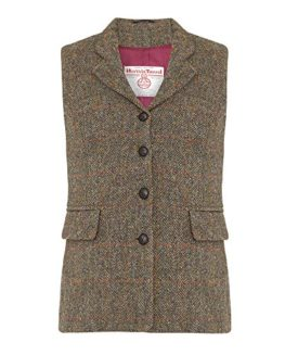 Ladies-Harris-Tweed-Waistcoat-0