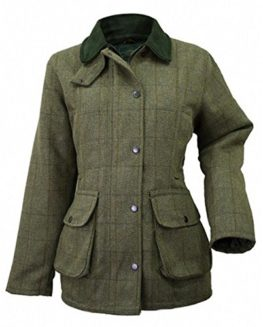 Ladies-Tweed-Jacket-Green-0