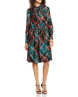 Manoush-Womens-Robe-Longue-Silk-Tweed-Dress-0