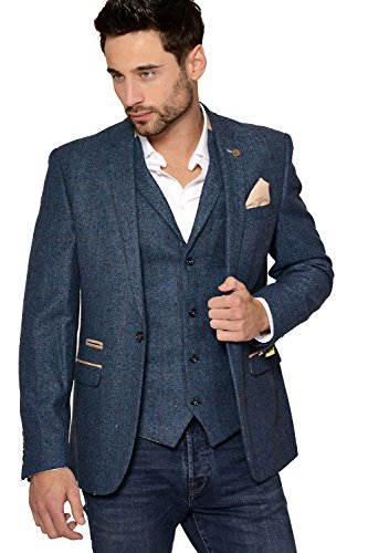 All our Tweed Jackets are individually made to order, offering a wide range of fabrics, and style variations to suit your taste, all our Jackets are custom made to your requirements in the UK. Choose 2 or 3 button front Jackets, with choice of vents & pocket styles.