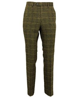 Mens Tweed Trousers