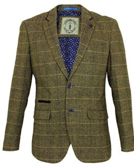Mens-Cavani-Wool-Tweed-3-Piece-Suit-Sold-Separately-Blazer-Waistcoat-Trousers-0