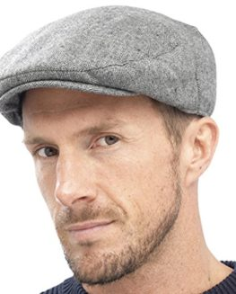 Mens-Quality-Flat-Cap-Fashion-Hat-With-Herringbone-Tweed-Design-0