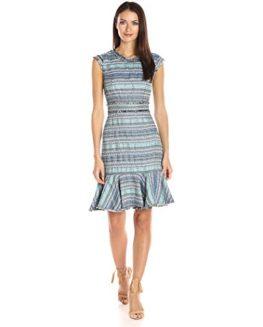 Nanette-Nanette-Lepore-Womens-Tweed-Dress-with-Fringe-Hem-0