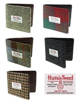New-Mens-Authentic-Harris-Tweed-Mull-Classic-Gents-Wallet-in-Choice-of-Styles-0