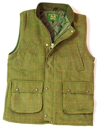 New Mens Tweed Derby Gilet Outdoor Bodywarmer Quilted Waistcoat