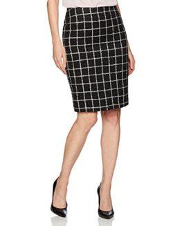 Nine-West-Womens-Tweed-Slim-Skirt-0