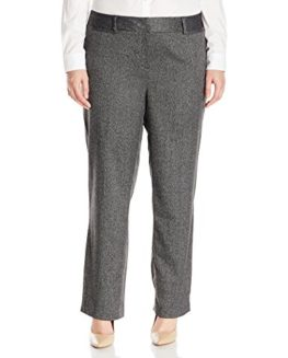 Rafaella-Womens-Plus-Size-Manhattan-Twill-Tweed-Dress-Pant-0