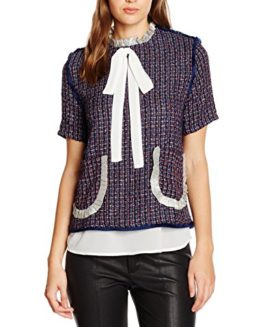 Sister-Jane-Womens-Judy-Tweed-Oyster-Blouse-0