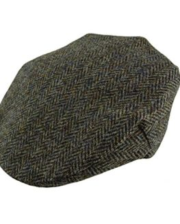 Stunning-Authentic-Harris-Tweed-Traditional-Gents-Flat-Cap-Made-In-Scotland-by-Glen-Appin-0