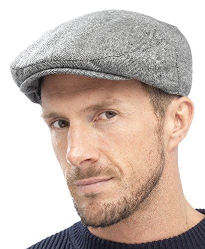 Tom Franks Mens Traditional Flat Cap - That British Tweed Company c5813ffa8043